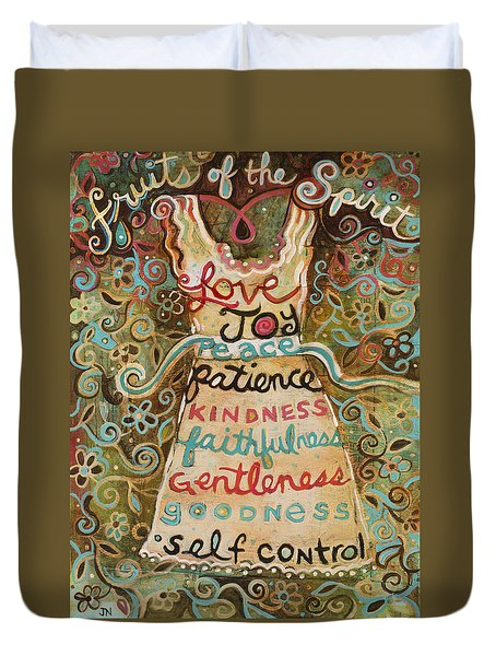 Fruits Of The Spirit Duvet Cover
