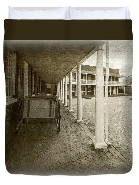 Ft Mchenry Compound Duvet Cover