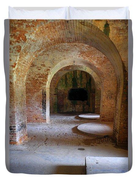 Ft. Pickens Interior 3 Duvet Cover