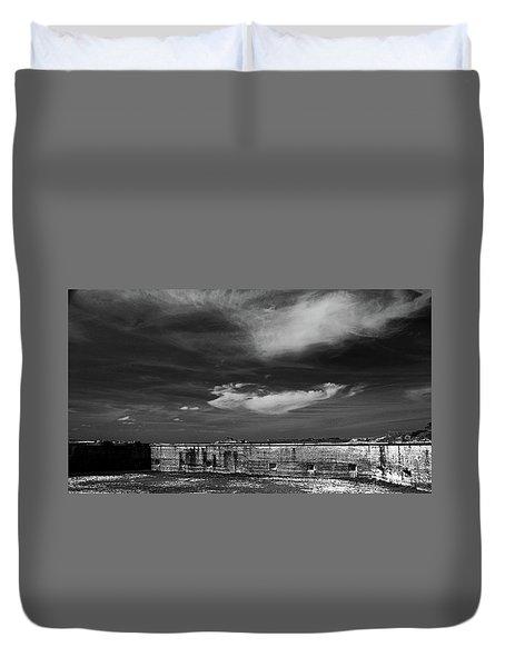 Ft. Pickens Sky Duvet Cover