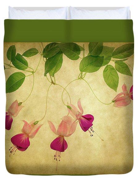 Fuchsia #1 Duvet Cover