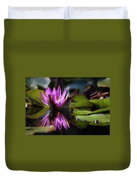 Fuchsia Dreams Duvet Cover by Suzanne Gaff