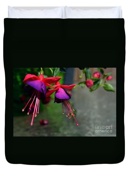 Fuchsia Original Photo Duvet Cover