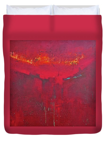Fuego Duvet Cover by Filomena Booth