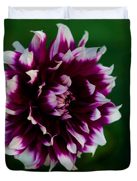 Fuffled Petals Duvet Cover by Cherie Duran