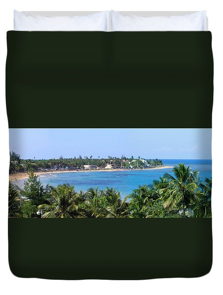 Full Beach View Duvet Cover by Suhas Tavkar