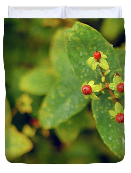 Fall Berry Duvet Cover
