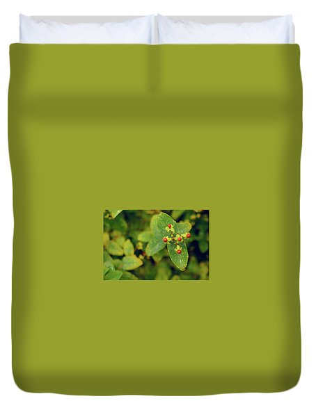 Fall Berry Duvet Cover