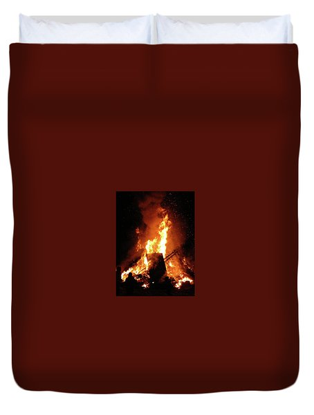 Full Bonfire Duvet Cover