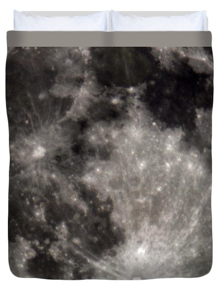 Full Moon 7-31-15 Duvet Cover
