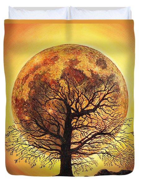 Full Moonrise. Duvet Cover