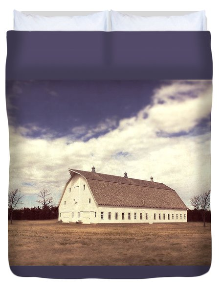 Duvet Cover featuring the photograph Full Of Surprises by Julie Hamilton