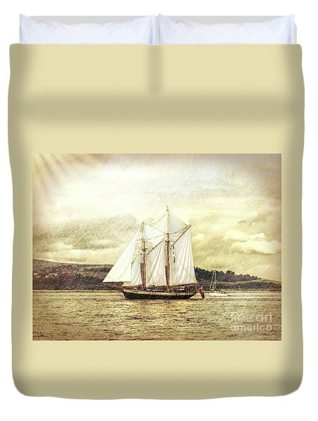 Full Sail Duvet Cover