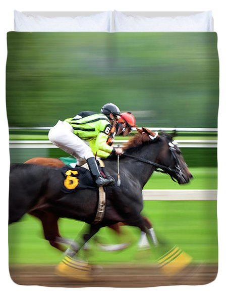 Full Stride Duvet Cover