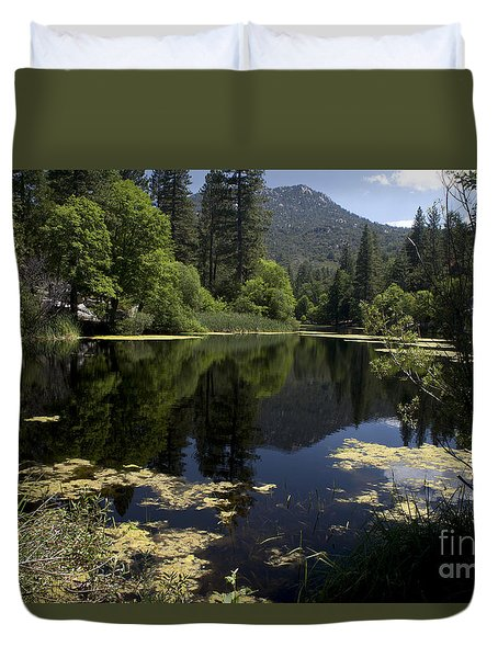 Fulmor Lake Duvet Cover by Ivete Basso Photography