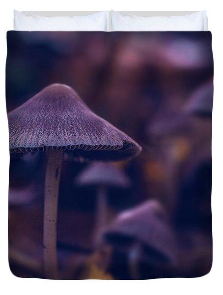 Fungi World Duvet Cover