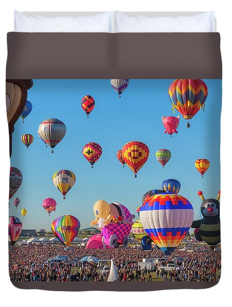 Funky Balloons Duvet Cover