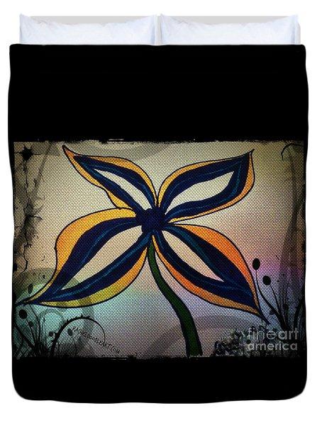 Funky Flower Duvet Cover