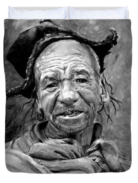 Funky Hat Duvet Cover by Enzie Shahmiri