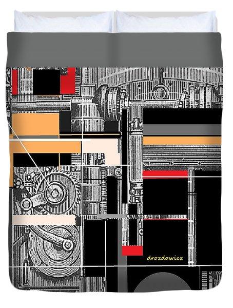Furnace 1 Duvet Cover
