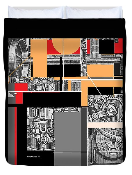 Furnace 2 Duvet Cover by Andrew Drozdowicz
