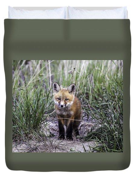 Furry Friend Duvet Cover