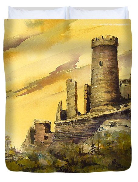 Furstenburg On The Rhine Duvet Cover