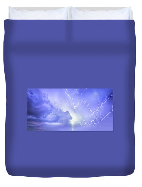 Fury Of The Storm Duvet Cover