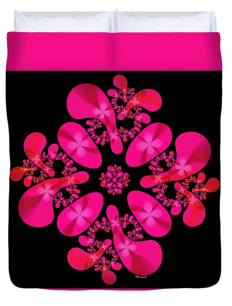 Fuschia Frenzy Duvet Cover