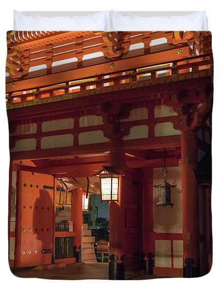Fushimi Inari Taisha, Kyoto Japan Duvet Cover
