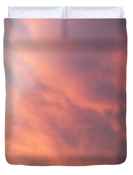 Futile Faces Duvet Cover