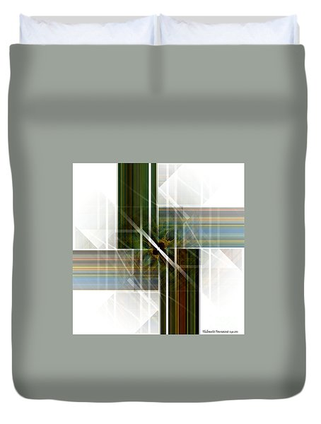 Future  Buildings Duvet Cover