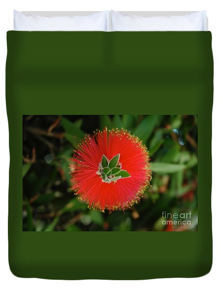 Fuzzy Flower Duvet Cover