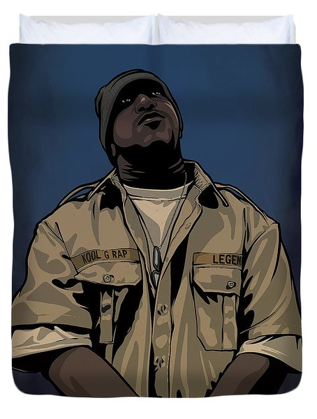 G Rap Giancana Duvet Cover
