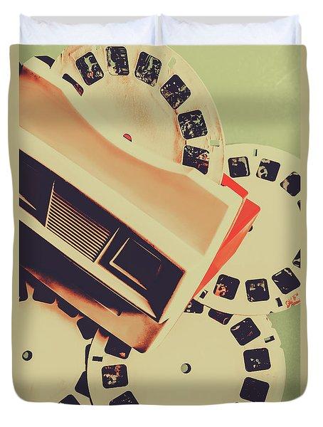 Gadgets Of Nostalgia Duvet Cover