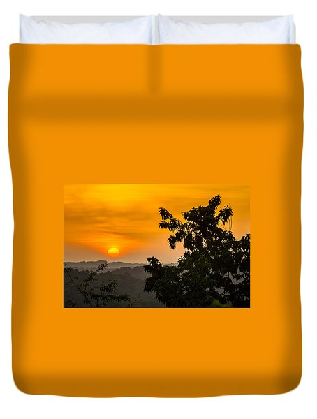 Gainesville Sunrise Duvet Cover