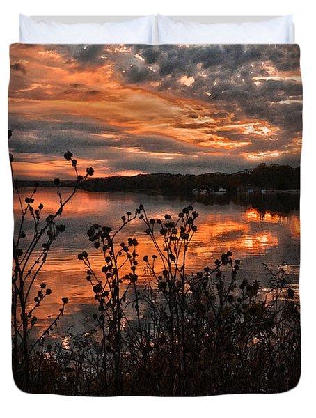 Gainesville Sunset 2386w Duvet Cover