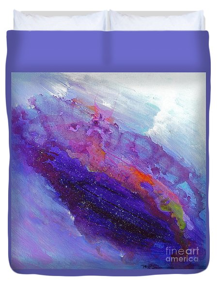 Fantasies In Space Series Painting. Galactic Inspirations. Abstract Painting Duvet Cover