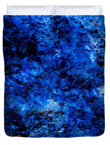 Galactic Night Abstract Duvet Cover