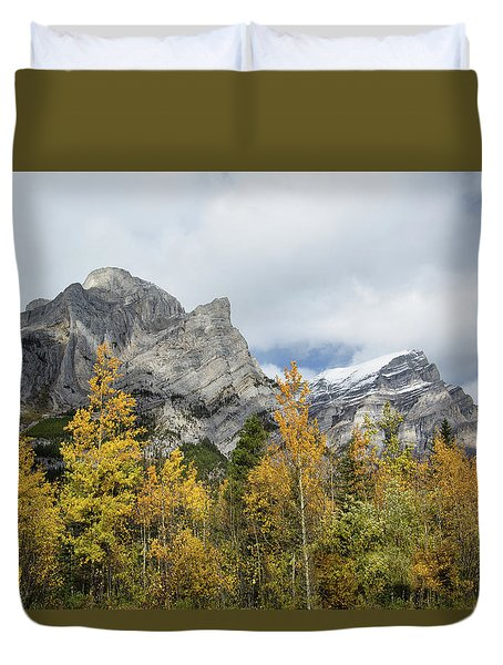 Galatea In Fall Duvet Cover
