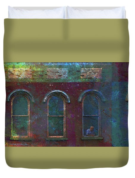 Galesburg Windows 2 Duvet Cover