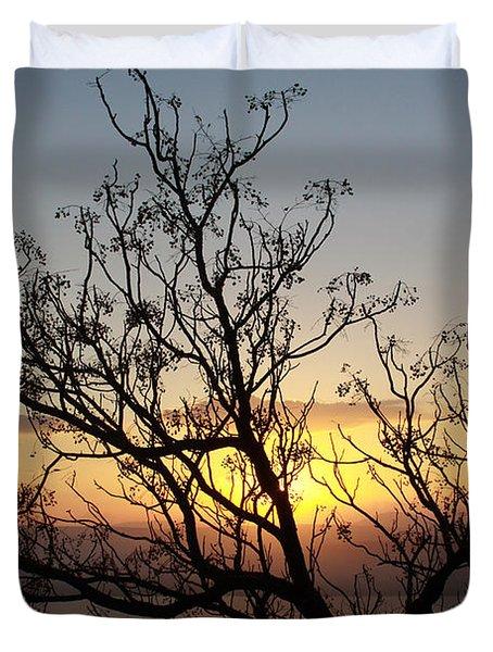 Galilee Sunset Duvet Cover