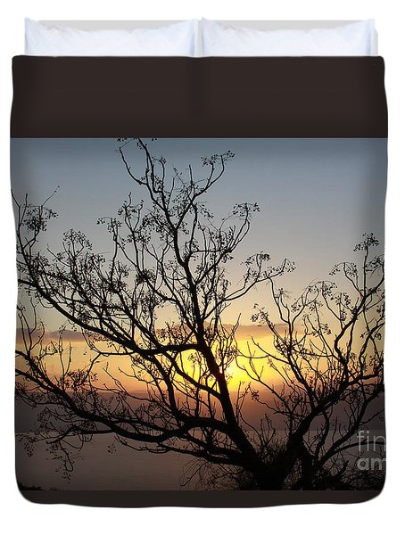 Galilee Sunset Duvet Cover