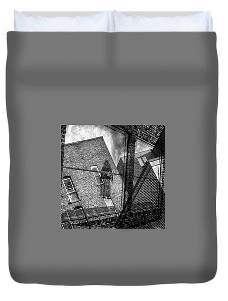 Gallery Noir Duvet Cover