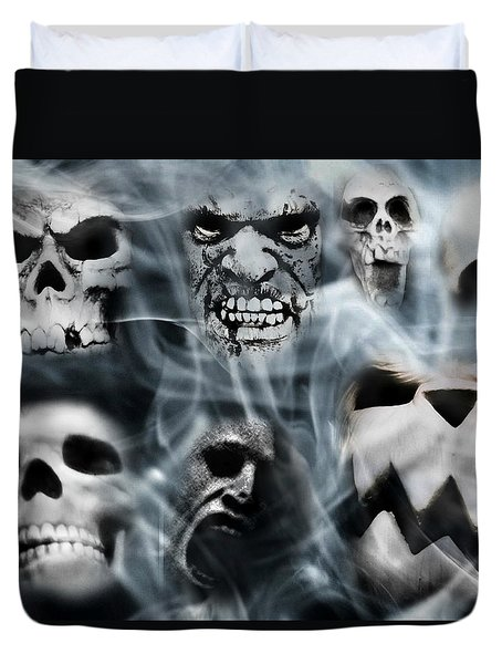 Gallery Of Ghoulsviii Duvet Cover