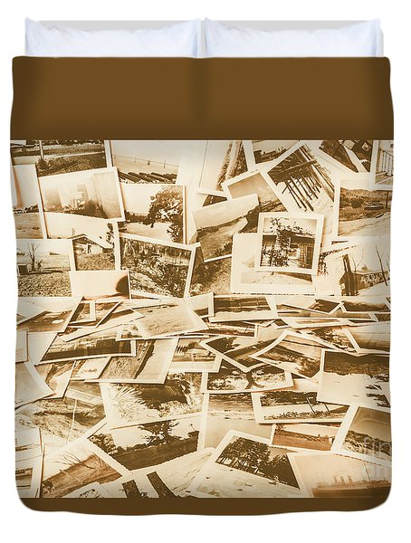Gallery Of Old Landscape And Antique Places Duvet Cover