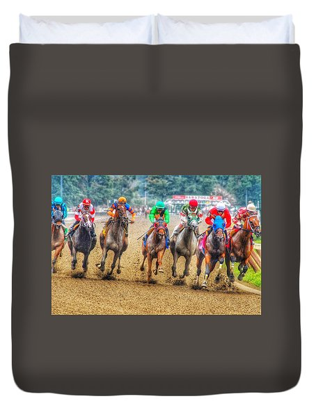 Galloping Duvet Cover