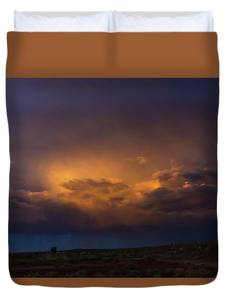 Gallup Dreaming Duvet Cover