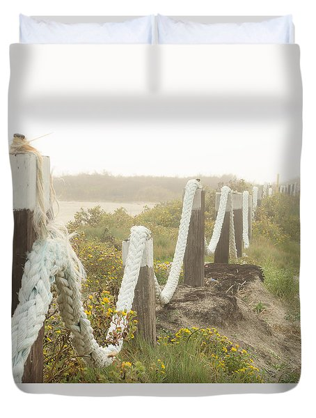 Galveston Beach 2 Duvet Cover