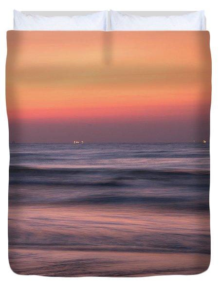 Galveston Morning Duvet Cover